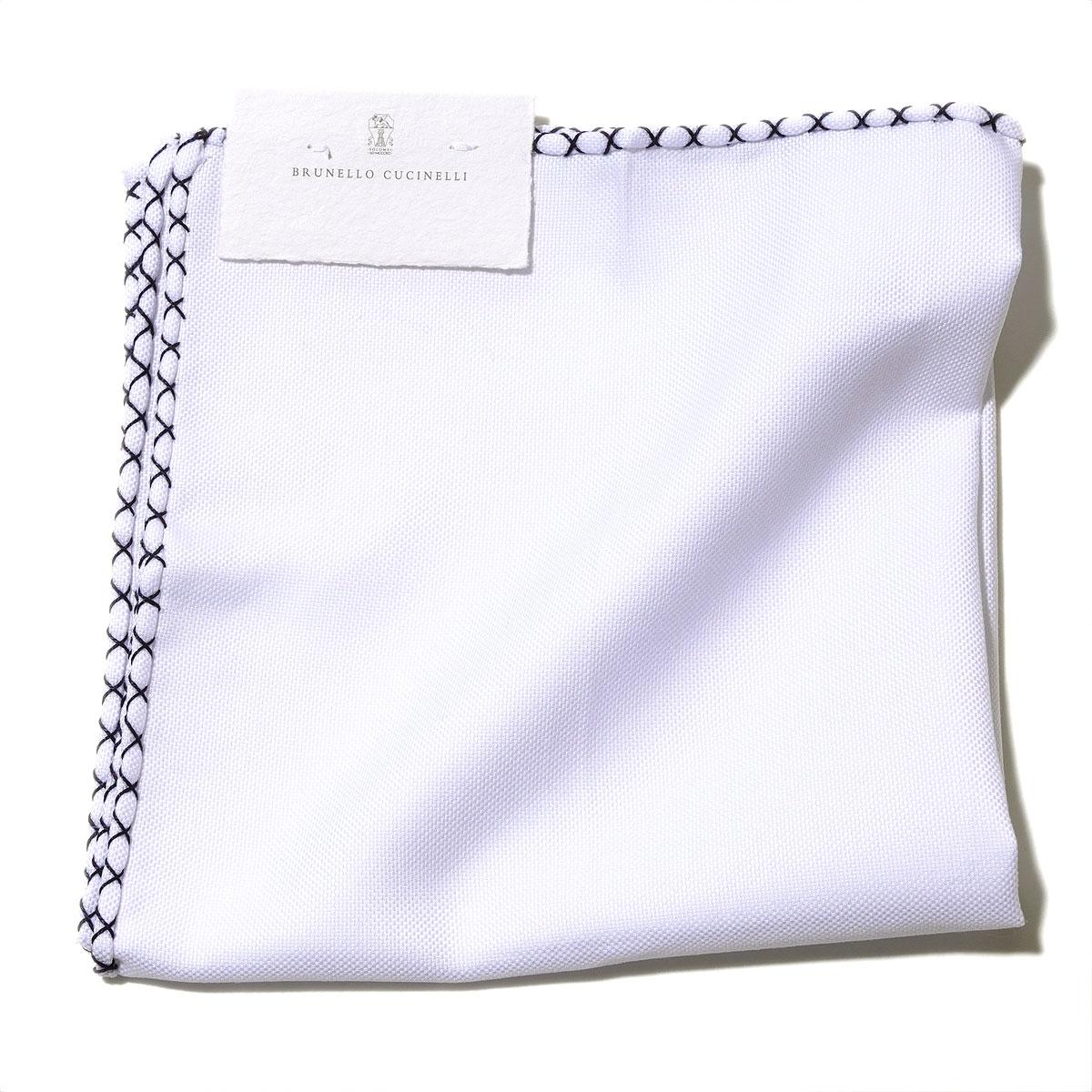 ブルネロクチネリ【イタリア製】ポケットチーフ MD8030091 C159J BRUNELLO CUCINELLI