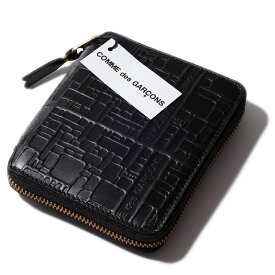 2020AWウォレット コムデ ギャルソン ラウンドファスナー二つ折り財布2100EL【送料無料】メンズ Wallet COMME des GARCONS 【メンズ財布 二つ折り財布(小銭入れあり) 】レディース
