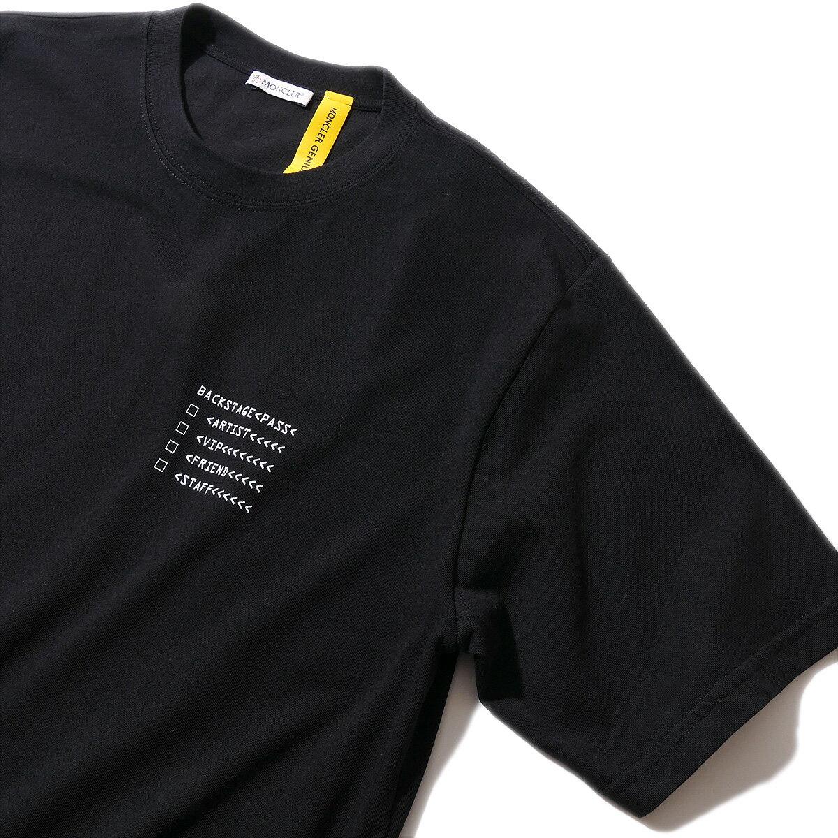 モンクレール2018AW 7 MONCLER FRAGMENT HIROSHI FUJIWARA Tシャツ フラグメントGENIUS ジーニアス【endsale_18】