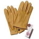 英国デンツ 手縫いペッカリーグローブ DENTS 15-1043(マスタード Cork) メンズ 手袋【送料無料】デンツ純正ギフトBOX…