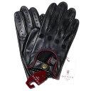 デンツ【送料無料】DENTS ドライビング グローブ 5-1011 Black/Berry メンズ 手袋【手ぶくろ 男性用 】 ブランド ギフ…