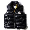 モンクレールジーニアス ダウンベスト PARKER GILET 999ブラック MONCLER GENIUS 2 MONCLER 1952 ジレ メンズ 2020SS【sale】