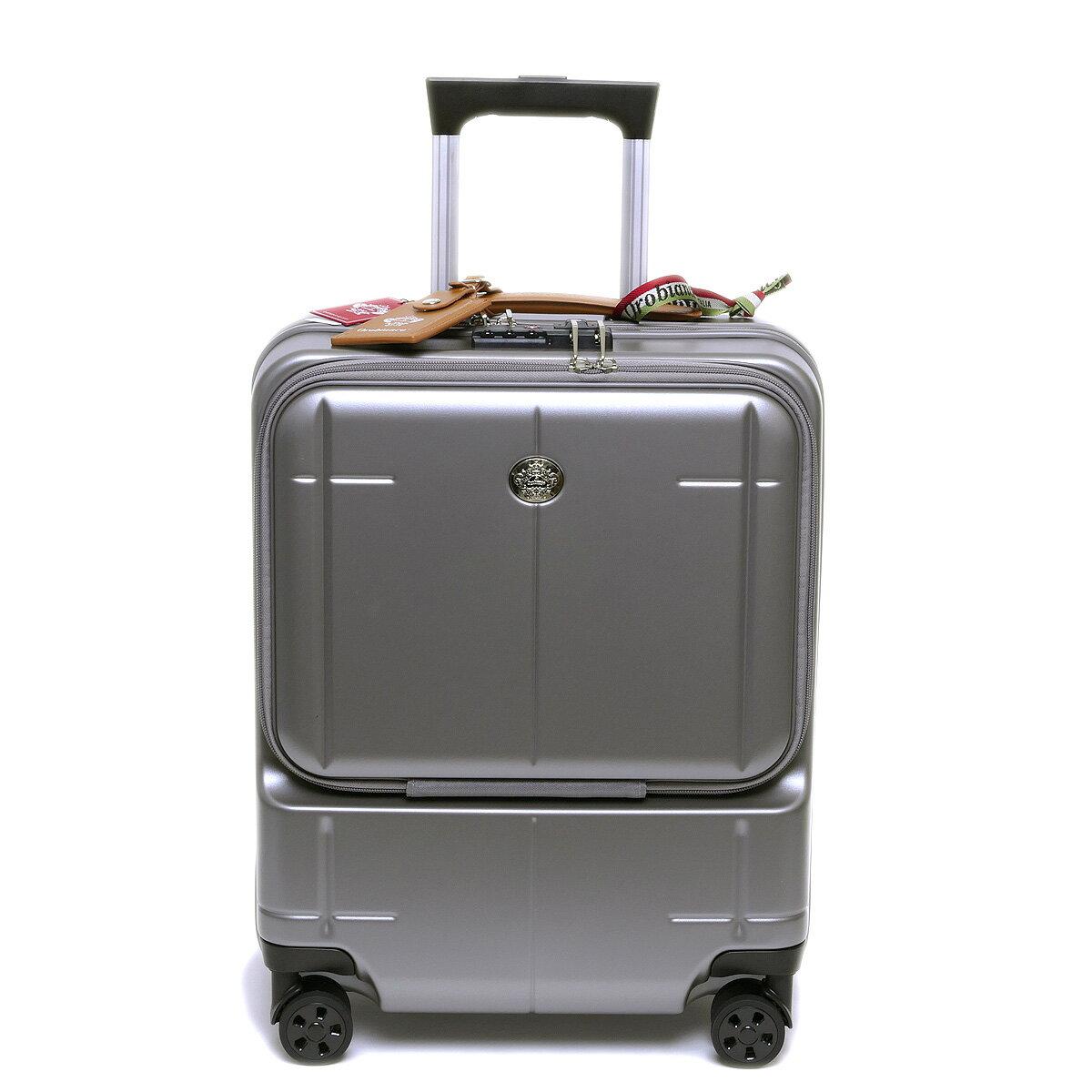 【国内正規品】オロビアンコ スーツケース ARZILLO アルズィーロ 縦型 グレー OROBIANCO