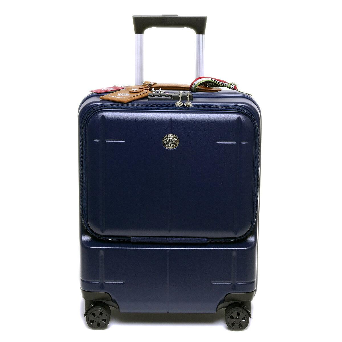 【国内正規品】オロビアンコ スーツケース ARZILLO アルズィーロ 縦型 ネイビー OROBIANCO