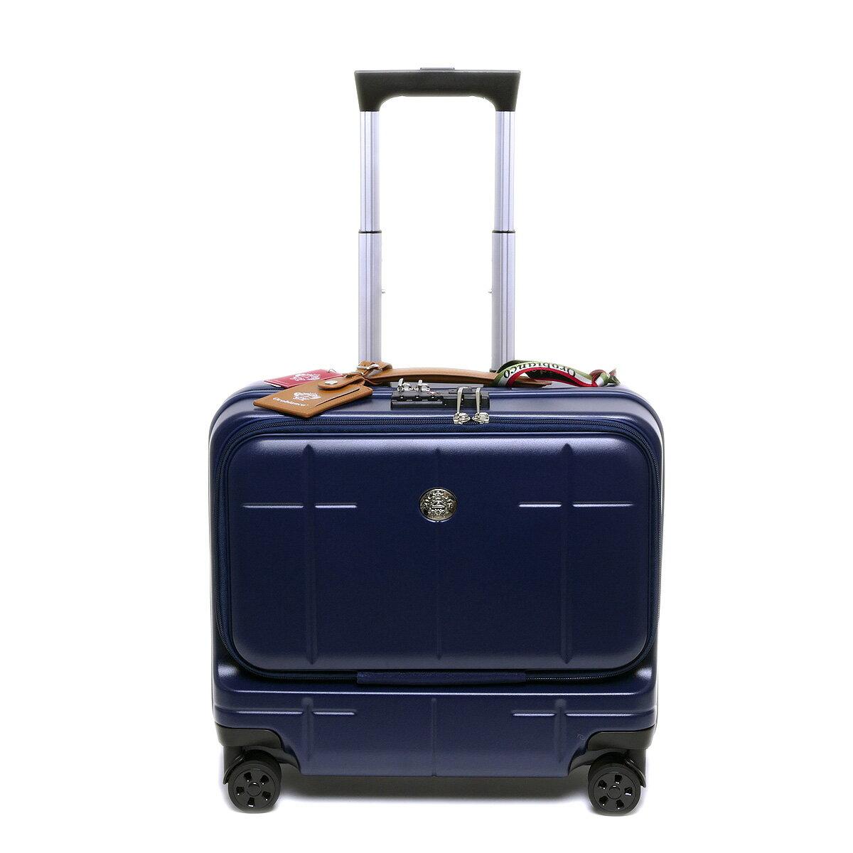 【国内正規品】オロビアンコ スーツケース ARZILLO アルズィーロ 横型 ネイビー OROBIANCO