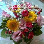 【送料無料】お花のアレンジメント花束35束ギフトフラワーアレンジメントプレゼントサプライズお祝い誕生日記念日母の日結婚記念日結婚祝い退職祝い定年送別会還暦クリスマス妻両親発表会