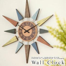 【ポイント10倍】 掛け時計 デザイン 壁掛け時計 スイープ 時計 静音 掛時計 木製 壁掛時計 インテリア雑貨 おしゃれ クォーツ ギフト 贈り物 祝い ショップ サロンカフェ プレゼント デザイナーズ