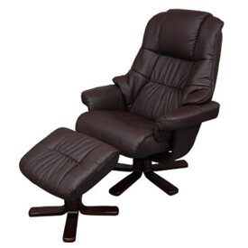 ロッキングチェア インテリア 椅子 リクライニングチェア いす イス 合皮 ポップ デザイン 送料無料 ブラウン おしゃれ
