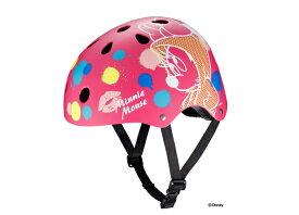 ストリートヘルメット / ミニー子供用ヘルメット【Disneyzone】