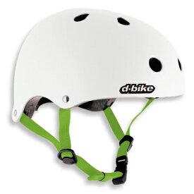D-Bike キッズヘルメットS / ホワイト子供用ヘルメット