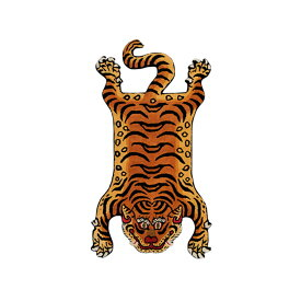 DETAIL INC. | ディテール - TIBETAN TIGER RUG DTR02/LARGE #ONE [331602L]
