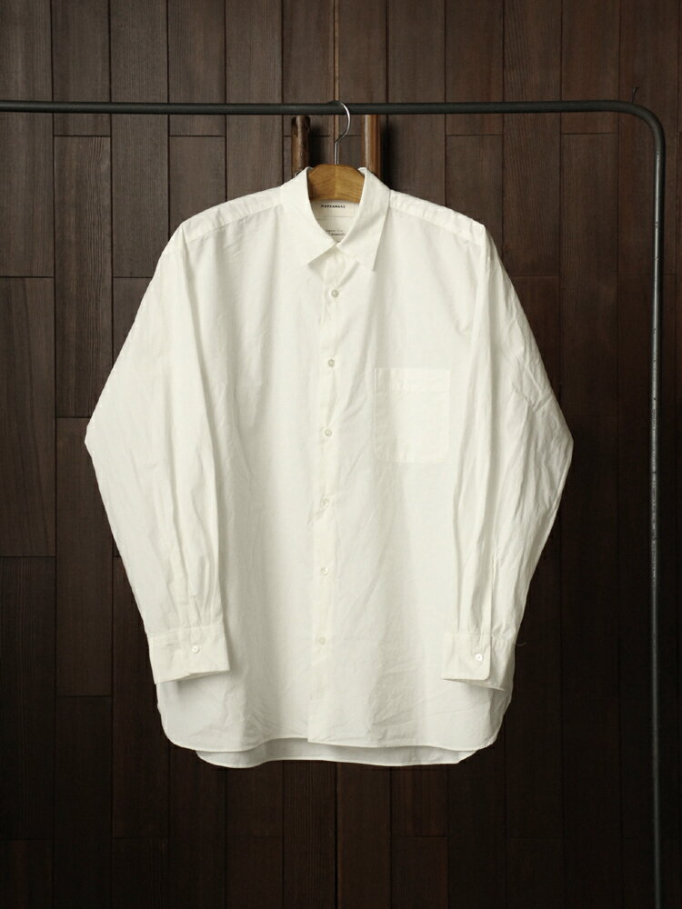 MARKAWARE COMFORT FIT SHIRTS #WHITE