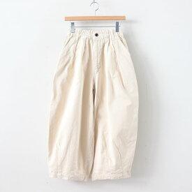 HARVESTY   ハーベスティ - CIRCUS PANTS CHINO CLOTH GARMENT DYED #IVORY [A11709]