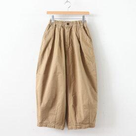 HARVESTY   ハーベスティ - CIRCUS PANTS CHINO CLOTH GARMENT DYED #KHAKI BEIGE [A11709]