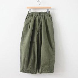 HARVESTY   ハーベスティ - CIRCUS PANTS CHINO CLOTH GARMENT DYED #MILITARY GREEN [A11709]