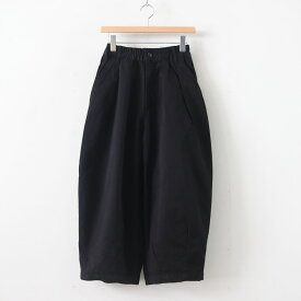 HARVESTY   ハーベスティ - CIRCUS PANTS CHINO CLOTH GARMENT DYED #BLACK [A11709]