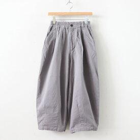 HARVESTY   ハーベスティ - CIRCUS PANTS CHINO CLOTH GARMENT DYED #GRAY [A11709]
