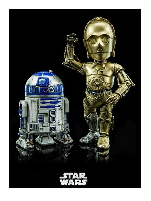 ヒーロークロス ハイブリッド・メタル・フィギュレーション #024 C-3PO&R2-D2 「スターウォーズ」