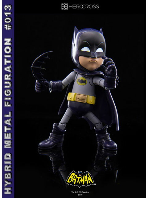 ヒーロークロス ハイブリッドメタルフィギュレーション 012 バットマン 「バットマン 1966年TVシリーズ」