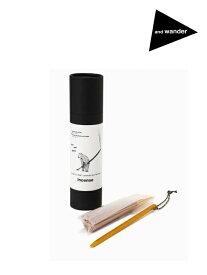and wander アンドワンダー|incense + holder #Yellow [5741987002] インセンス+ホルダー
