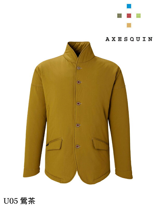 AXESQUIN アクシーズクイン|ヤマニノボッタカモシレナイ insulated (unisex) #U05 鶯茶