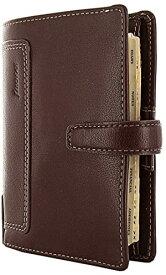 ファイロファックス ホルボーン システム手帳 スモール ブラウン 17-025119 正規輸入品