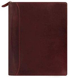 ファイロファックス システム手帳 ロックウッド A5ジップ ワイン 17-021691 正規輸入品