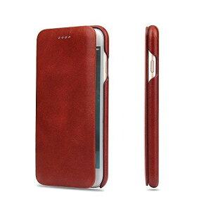 iPhone8ケース アイフォン8ケースTYESQII 高級本革(牛革) 手帳型ケース 財布型 100%手作り マグネット(弱い)