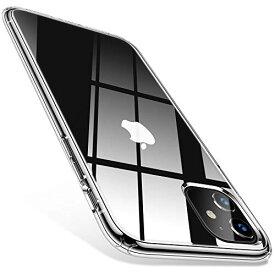 TORRAS iPhone 11 ケース 6.1インチ 対応 全透明 ハイブリッドケース 米軍MIL規格 黄ばみなし 耐衝撃