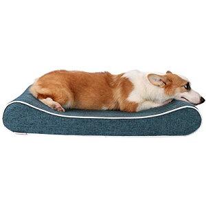犬 ベッド ペットソファ 高反発ウレタン使用 子犬 老犬 猫 介護用 ベッドマット 肌触りよい 柔らかい 取り外せるカバー 洗える