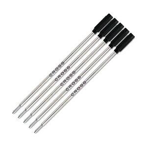 CROSS ボールペン 替芯 黒 F(細字) 5本セット 8514 リフィル クロス 【並行輸入品】 (黒)