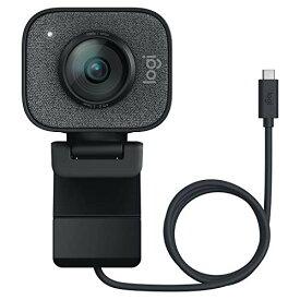 ロジクール ウェブカメラ フルHD 1080P 60FPS ストリーミング ウェブカム AI オートフォーカス 自動露出補正