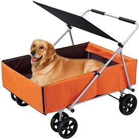 OFT 介護カート 多頭用 大型犬 中型犬 小型犬 老犬 高齢犬 シニア犬 介護 日よけ 耐荷重 〜45kg サイズ(約)