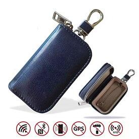 スマートキーケース リレーアタック防止用 電波遮断ポーチ MONOJOY 電波遮断ケース スマートキー用 キーホルダー メンズ