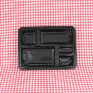 CK−3−2 黒 透明蓋付 50入 弁当容器 テイクアウト イベント レンジ対応 業務用