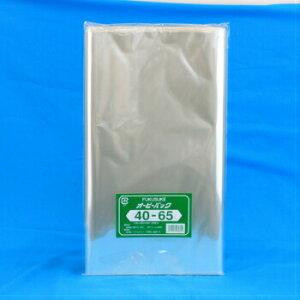 オーピーパック 40ー65 50入 OPP袋 ビニール袋 透明フィルム ラッピング包装 封筒 業務用