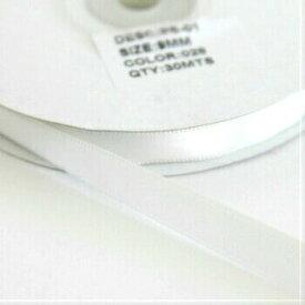 Sサテンリボン 9mm アンティークホワイト 028