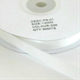 Sサテンリボン 13mm アンティークホワイト 028