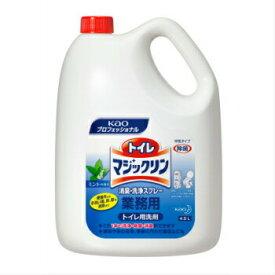 トイレマジックリン 4.5L 4本入 消臭 洗浄タイプ 花王プロシリーズ 業務用 詰め替え トイレ用洗剤 掃除 大容量
