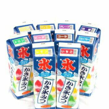 ミツモト 氷みつ各種 いちご レモン メロン スカイブルー グレープ マンゴー ピーチ プリン コーラ 白蜜 1.8L