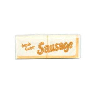 フランクフルトスリーブ 100入 フランクフルト袋 業務用 チーズハットグ チーズドック テイクアウト 紙袋