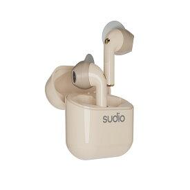 【Bluetooth 5.0】[国内正規代理店販売品 安心の1年保証]Sudio / NIO 《ニオ》 デュアルマイク内蔵 ⾼⾳質完全ワイヤレスイヤホン 着脱可能なウィングチップによる装着の安定性、防⽔性能IPX4、5.5時間合計20時間連続再生