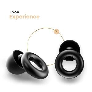 耳栓 聴覚保護用 ベルギーブランド【国内正規品】【聴覚過敏 耳鳴り防止 ハイファイ イヤープラグ】ループ エクスペリエンス / Loop Experience〈音質はクリアなまま音量を均等に安全レベル