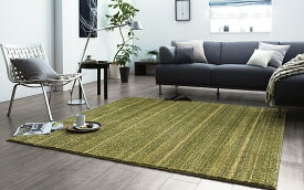 ラグ LUSTRE リュストル カーペット 極細ナイロン繊維100% ホットカーペット対応 床暖房対応 日本製 クラスティーナ 200cm×200cm