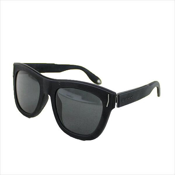 【中古】GIVENCHY ジバンシィ GV 7016 ラバーフレームサングラス ブランド ブラック