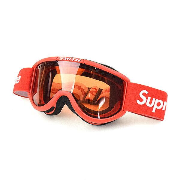 【中古】Supreme シュプリーム 15AW ×SMITH Cariboo OTG Ski Goggles スキーゴーグル ブランド レッド