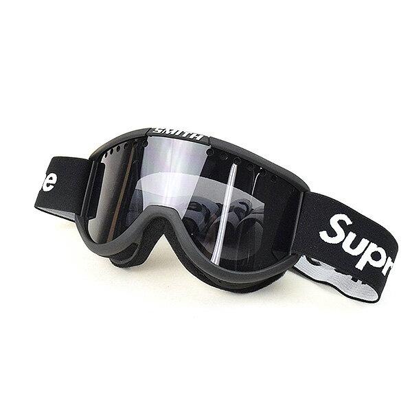 【中古】Supreme シュプリーム 15AW ×SMITH Cariboo OTG Ski Gogglesスキーゴーグル ブランド ブラック