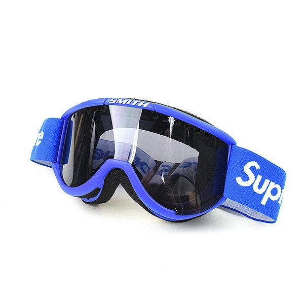 【中古】Supreme シュプリーム 15AW ×SMITH Cariboo OTG Ski Goggles スキーゴーグル ブランド ブルー