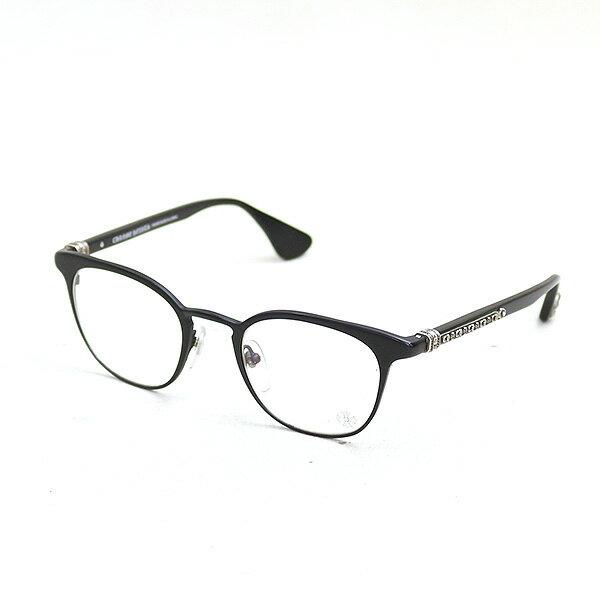【中古】CHROME HEARTS クロムハーツ GROWLER アイウェア/眼鏡 ブランド ブラック
