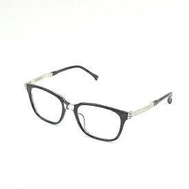 【中古】ISSEY MIYAKE × 金子眼鏡 イッセイミヤケ × カネコメガネ EL1-WELLINGTON マーブルアイウェア メガネ ブラック 52□19-146